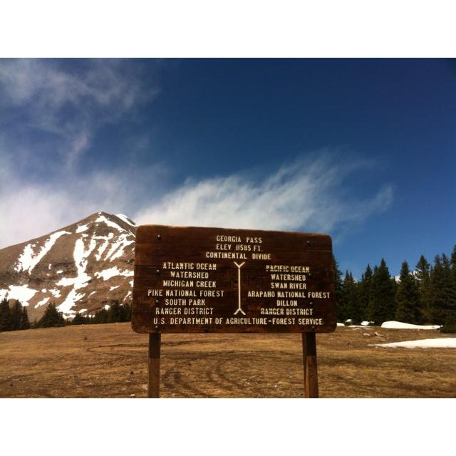 Shooting In Canon City Colorado: Georgia Pass Continental Divide Colorado Hiking