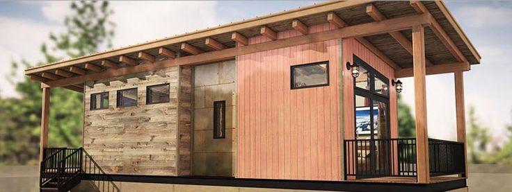 372 best images about fachadas de casas on pinterest - Casas pequenas de madera ...