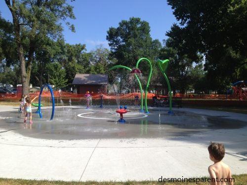 American Legion Park - West Des Moines - Sprayground