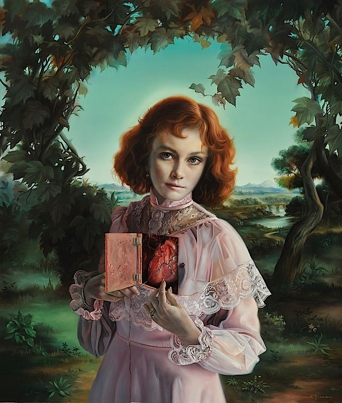 David Bowers #Painting #Heart