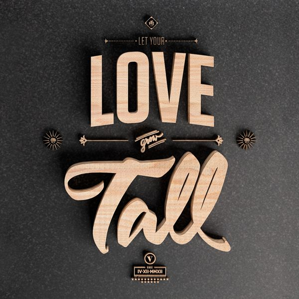 Hi guys, I just wanted to share one of my latest work for Typography Mania, hope you like it!Ken Itomura