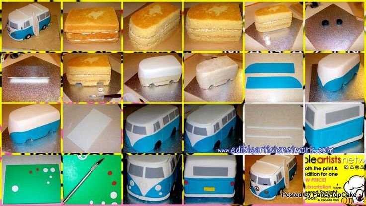 VW camper van tutorial