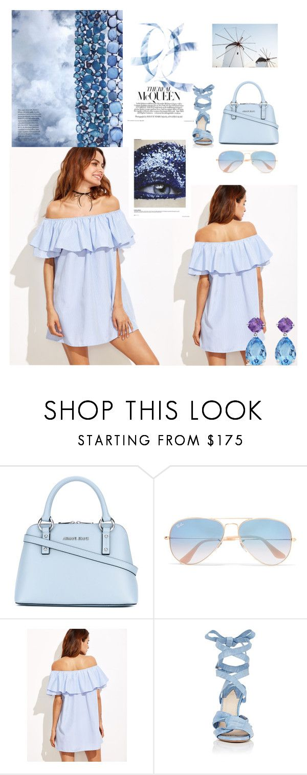 """""""Senza titolo #150"""" by robbys73 ❤ liked on Polyvore featuring Armani Jeans, Ray-Ban, Altuzarra and Suarez"""