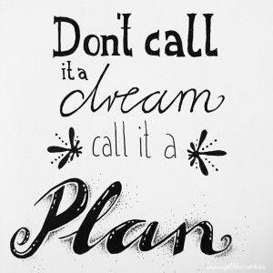 Plan - #30dayslettering| Instagram Handlettering Challenge|Gelbkariert