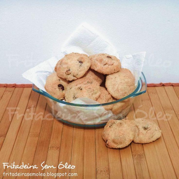Biscoitos de Passas e Canela na AirFryer - Fritadeira sem Óleo - AirFryer