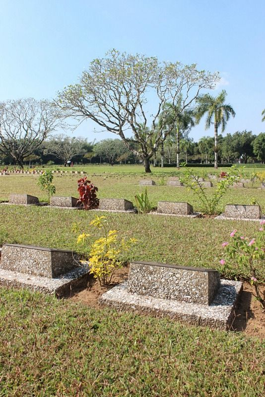 Thanbyuzayat Military Cemetery in Myanmar   Exotic Mawlamyine and Understanding the Death Railway   The World on my Necklace