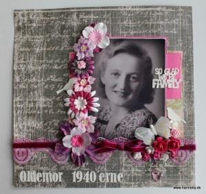 Vintage LayOut of Grandma