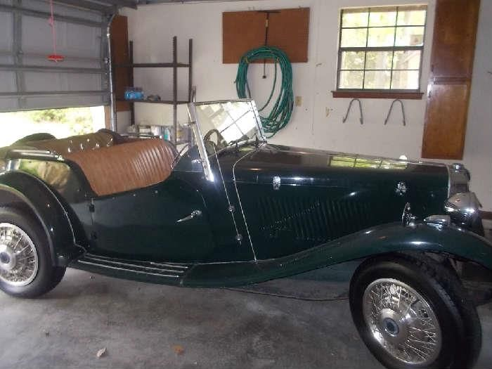 Found on EstateSales.NET: 1975 MG kit car with VW engine & under.  $4500., first come first serve - will accept phone calls on this items.