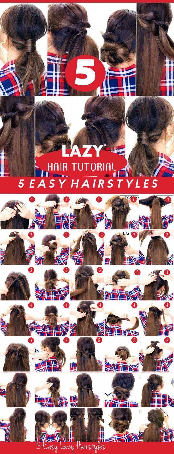 #Days #Easy #Easy Hairstyles lazy #easyhairstylesforwork #Hairstyles