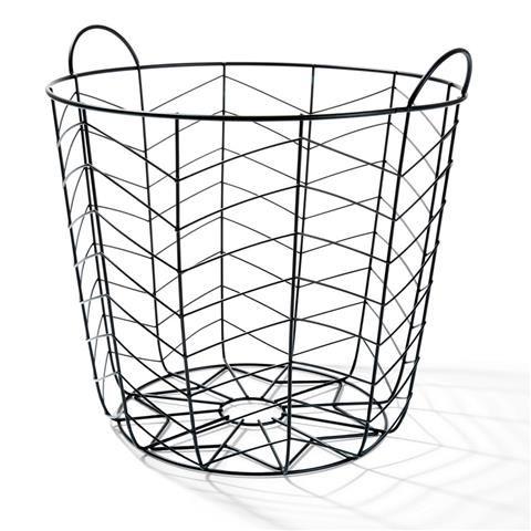 Black Coloured Basket | Kmart