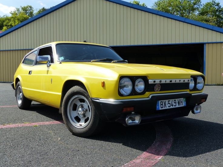 Reliant Scimitar GTE SE6a 1979 purchased in January 2015
