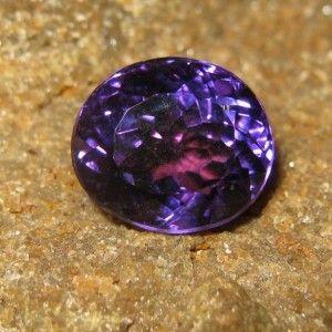 Batu Permata Purple Amethyst 6.26 carat Kualitas Bagus