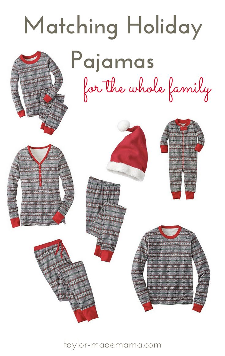 The cutest Matching Family Pajamas from Hanna Andersson. Wouldn't this be a perfect holiday tradition for your little family!?