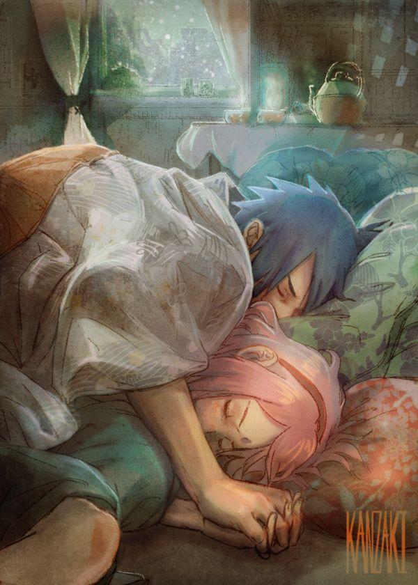 Sasuke x Sakura by kanzzzaki on DeviantArt