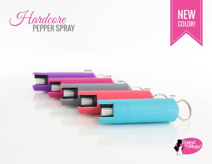 Hardcore pepper spray key chain from damsel in defense http://mydamselpro.net/supergirldefense