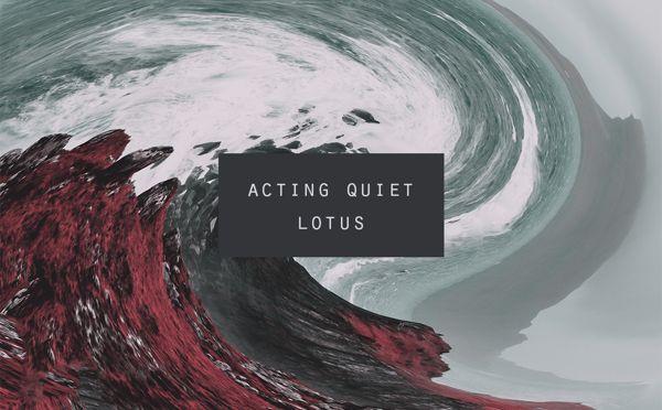 Acting Quiet - Lotus by Johannes Røsvik, via Behance