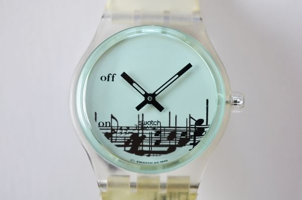 Swatch MUSICALL AG1996 Watch Antique