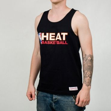 Mitchell & Ness NBA Miami Heat Team Issue Tank Top