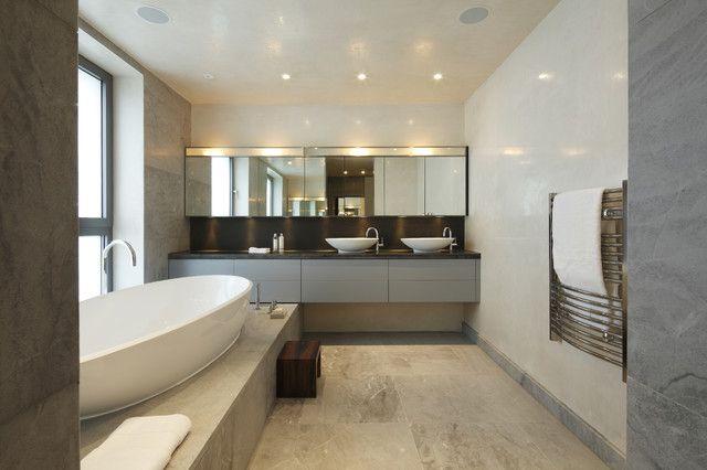 20 Stunning Examples of Modern Bathroom Design