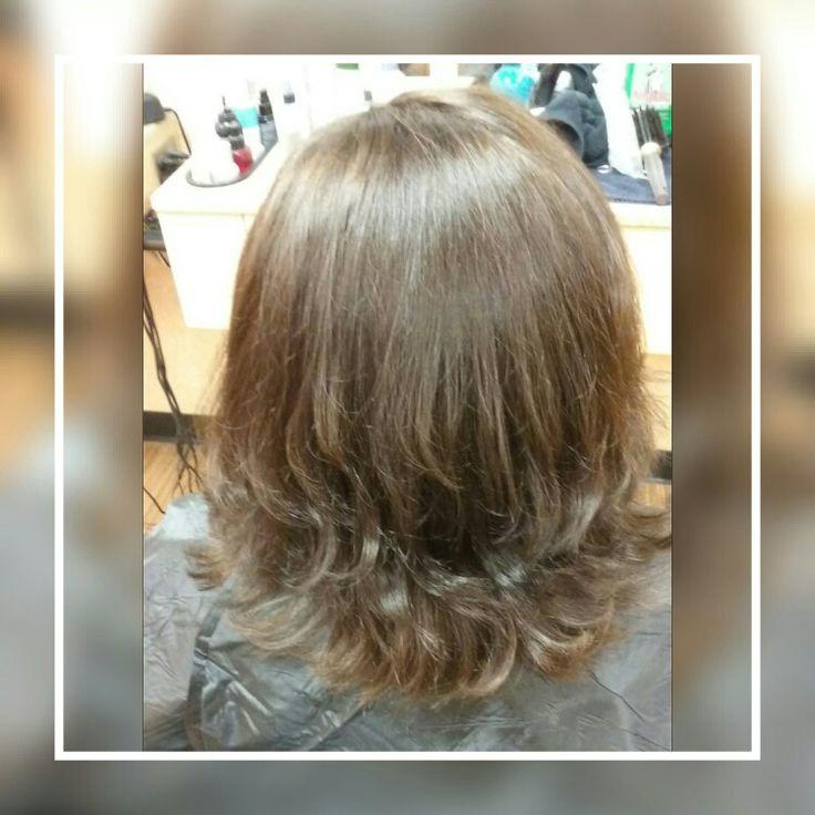 #rich brown hair