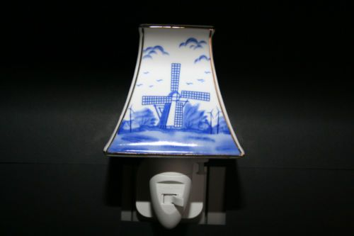 Nachtlicht-Porzellan-Steckdosenleuchte