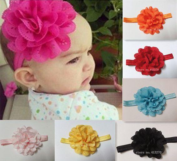 2013 nuevo estilo de niño bebé flor niñas diademas de moda infantil diadema de pelo de la cabeza y