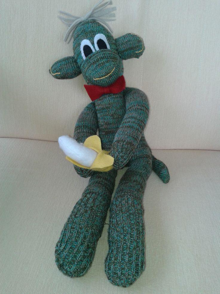 Opičák z ponožek