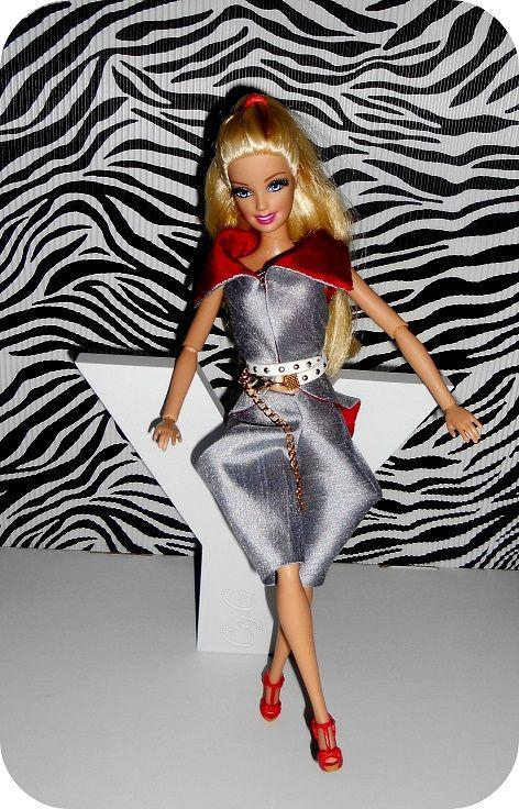 silk suit for barbie