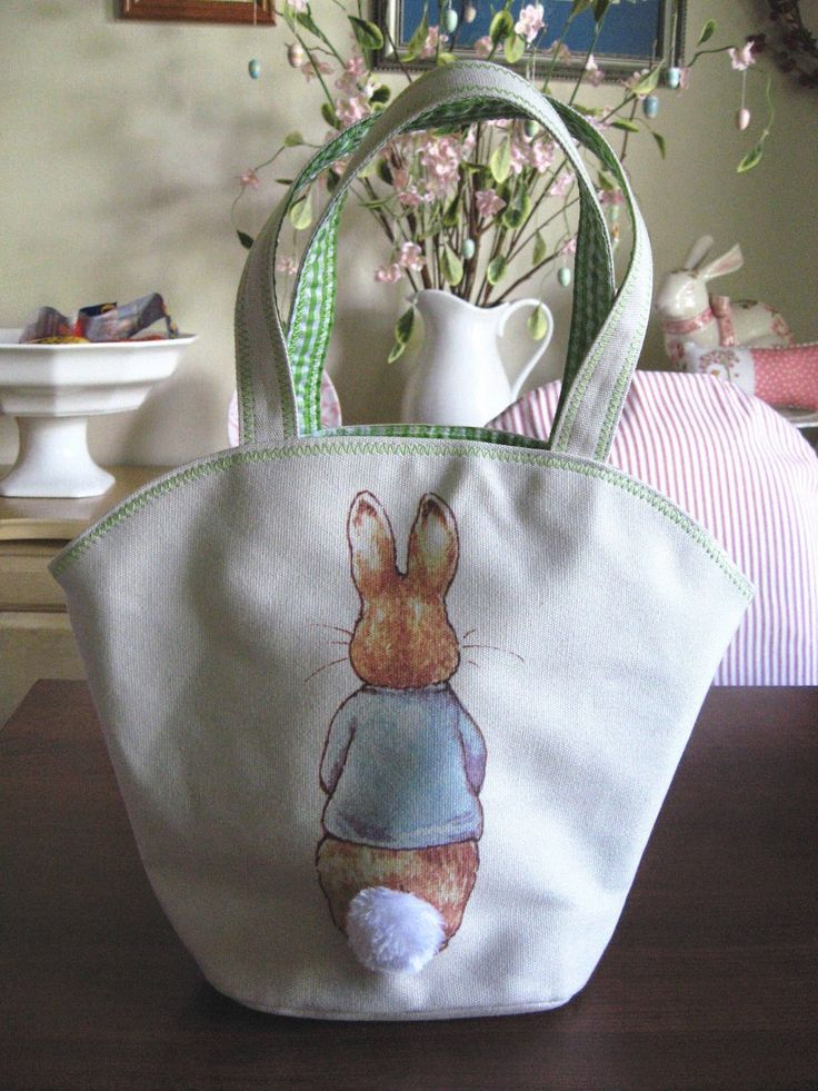 Peter Rabbit bag - back