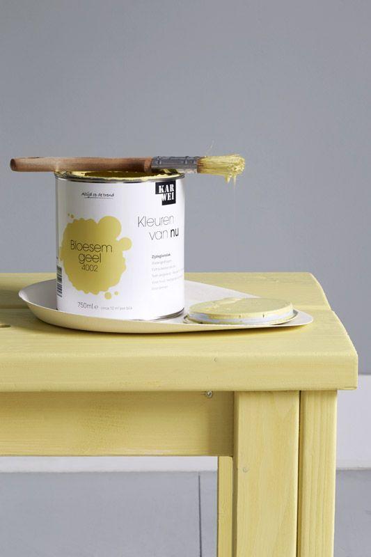 Karwei bepaal van tevoren welke meubelstukken je wil laten opvallen en welke niet met een - Kleur trendy restaurant ...