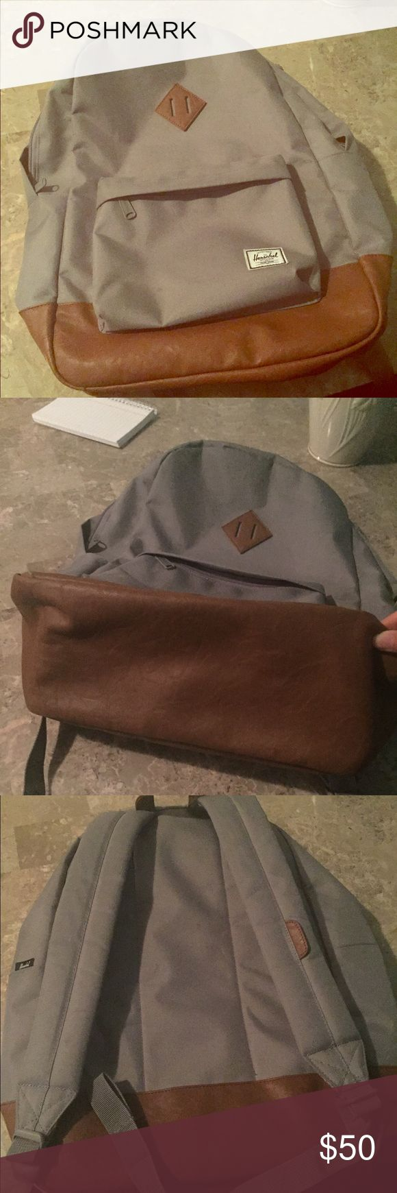 Herschel settlement backpack Like new! I bought this and used for about 3 months until i got a smaller backpack for work. Its in excellent condition, no rips or tears. Offers welcomed!! Herschel Supply Company Bags Backpacks