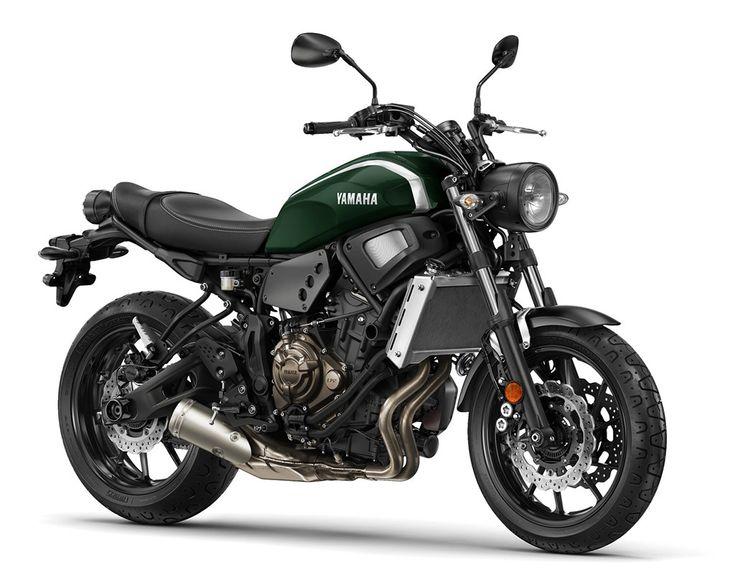 Yamaha lancerer retro inspireret street roadster XSR700 - Nyheder - Bruun-Larsen Motorcykler