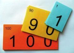 Cartes pour la décomposition des nombres (0 à 999) en téléchargement gratuit !