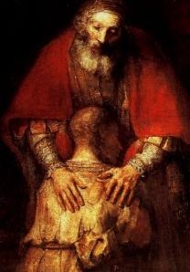 rembrandt's prodigal son.