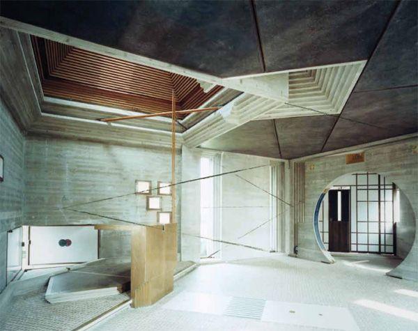 Carlo Scarpa's Tomba Brion, by Guido Guidi