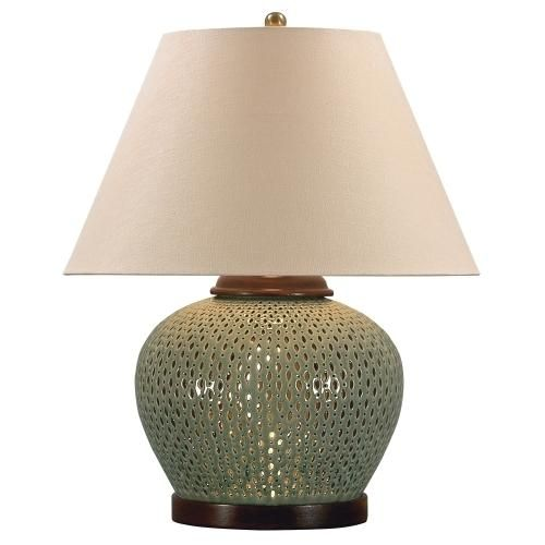30 best table lamps images on pinterest lamps bedroom ideas and pierced porcelain finished with a crackled glaze creates the rounded foundation of our exquisite table lamp mozeypictures Gallery