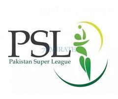 Tickets Available for PSL Dubai