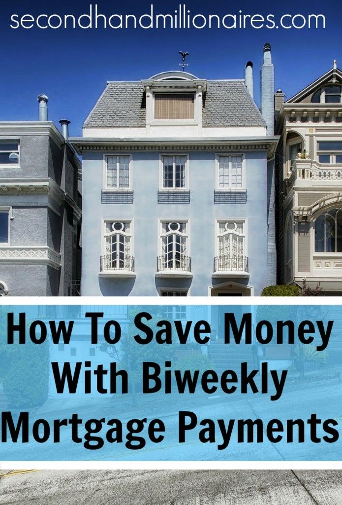 Save Money With Biweekly Mortgage Payments | Mortgage payment and Biweekly mortgage