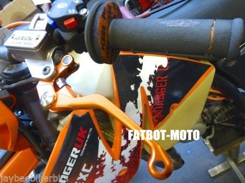 (48.88$)  Watch here - http://aiu01.worlditems.win/all/product.php?id=32433428923 - KTM 125 EXC SX SXS 300 EXC MXC ORANGE FOLDING FLEXI BRAKE & CLUTCH LEVERS TS69