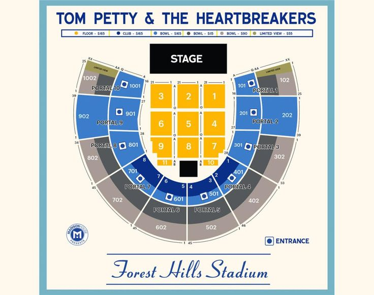 #tickets Tom Petty & The Heartbreakers CLUB SEATS Forest Hills New York 7/26 or 7/27 please retweet