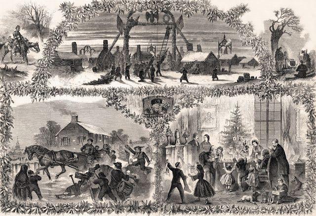 Christmas 1863 Frank Leslie S Illustrated Newspaper January 2
