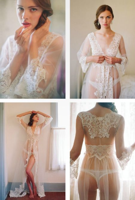Elegant honeymoon lingerie  http://www.clairepettibone.com/heirloom/