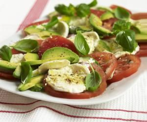 avocado-salad-william-shaw.jpg - Tricolore avocado salad photo by William Shaw / Getty Images
