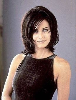 Like this haircut.  about twenty years ago...but it suits her.