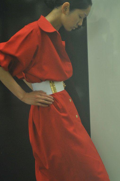 Guy Laroche 80's Big Form Tunic Dress by erioya on Etsy