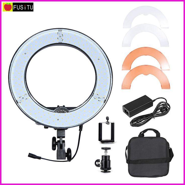 RL-12 12'' 180 pcs Lamp LED Video Ring Light 5500K Outdoor Video Photography Lighting Kit