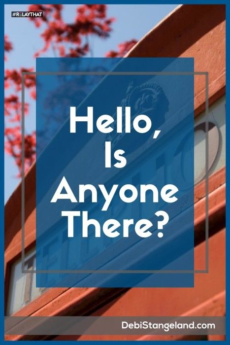 Hello, Is Anyone There? ★ Contact pages are a valuable resource to keep you connected to your readers. You can retain your privacy and be accessible to your readers too. ★ Learn HOW To Blog ★