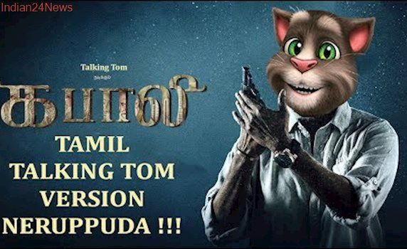 Kabali new version in talking tom version -superstar as talking tom