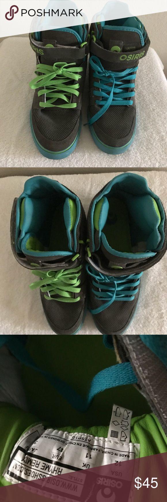 OSIRIS MEANS SHOES SZ 12 — STYLE RHYME REMIX Excellent condition Osiris Shoes Athletic Shoes