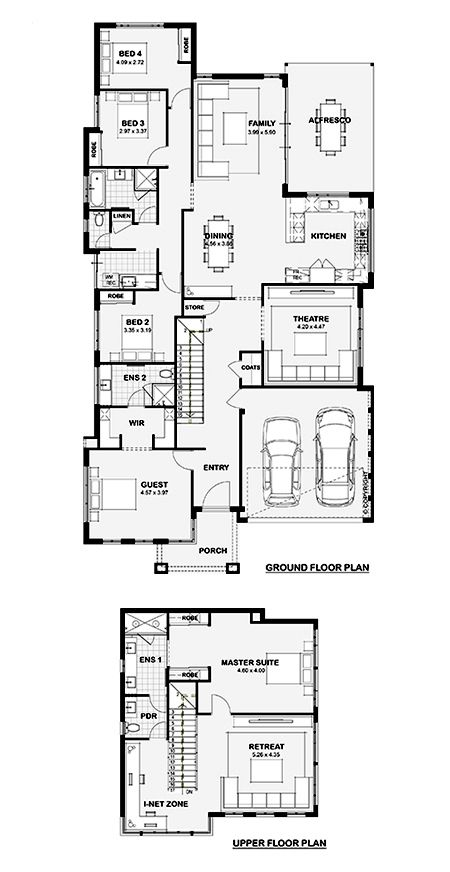 The Appella 15m Double Storey Home Design Perth WA Ben